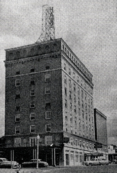 Hawn Hotel In Downtown Temple Across The Street From Then Spjst Home Office Courtesy Public Library